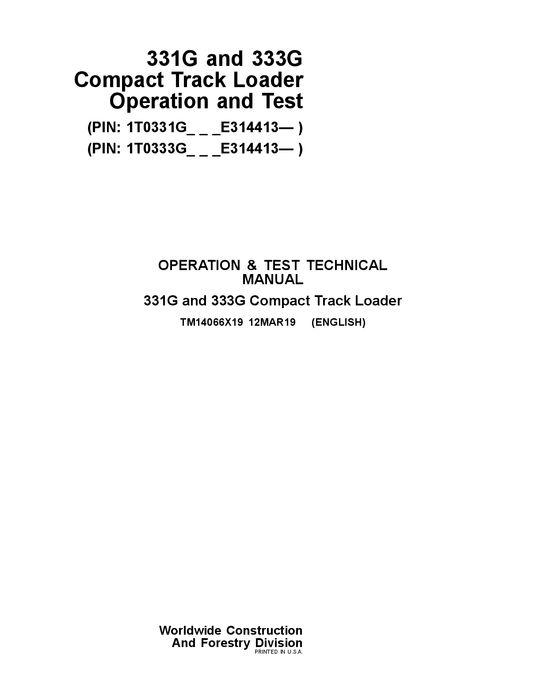 John Deere - Technical Information Bookstore